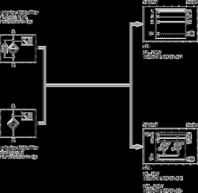 25TE - Tankanbau-Rücklauffilter mit Filterelement nach Bosch Rexroth ...