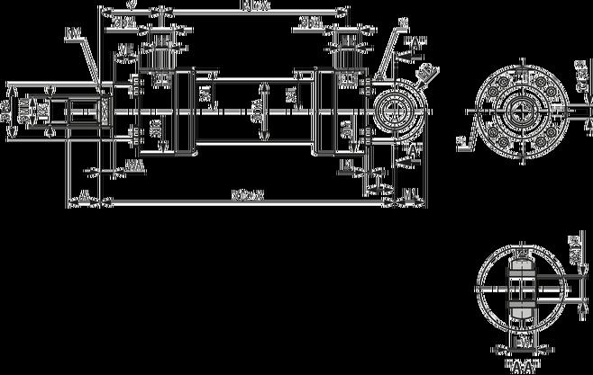 力士乐液压件 重载型液压缸图片