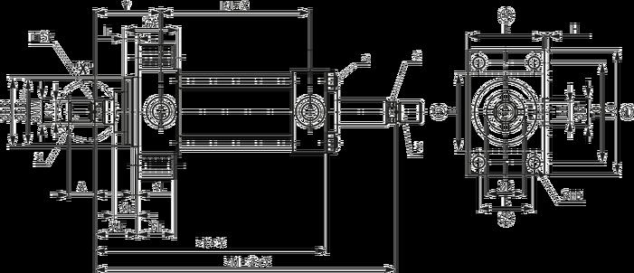 2,2 T Vérin Hydraulique Double Effet min longueur 510 MM Hub 300 mm