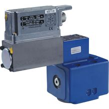 Proportional pressure relief valves, direct operated, with