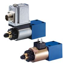 Proportional pressure relief valves, direct operated | Bosch Rexroth AG