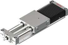 Open-type linear motion slides with Ball Screw Assemblies