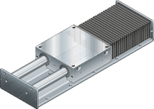 Open-type linear motion slides without drives | Bosch